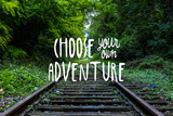 Choose Your Own Adventure Wall Sign