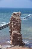 Lange Anna (Long Anna) Free Standing Rock Column in Heligoland Photographic Print by Michael Runkel