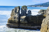 Beautiful Rock Formation, Pancake Rocks, Paparoa National Park Photographic Print by Michael Runkel