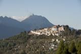 Tawang Buddhist Monastery, Himalayan Hills Beyond, Tawang, Arunachal Pradesh, India, Asia Photographic Print by Annie Owen
