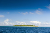 Little Island with a White Sand Beach in Haapai, Haapai Islands, Tonga, South Pacific, Pacific Photographic Print by Michael Runkel