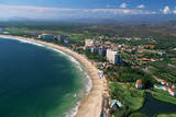 Aerial of Ixtapa Oceanfront Photographic Print by Danny Lehman