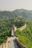 The Original Mutianyu Section of the Great Wall, UNESCO World Heritage Site, Beijing, China, Asia Lámina fotográfica por Michael DeFreitas