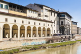Galleria Vasariana and Uffizi, Florence (Firenze), Tuscany, Italy, Europe Photographic Print by Nico Tondini