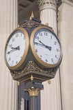Antique Public Clock Philadelphia PA Photographic Print by Joseph Sohm