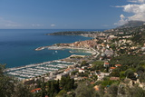 Menton and Cap Martin, Provence-Alpes-Cote D'Azur, French Riviera, France, Mediterranean, Europe Photographic Print by Sergio Pitamitz
