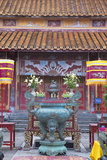 Mieu Temple Inside Imperial Palace in Citadel, Hue, Thua Thien-Hue, Vietnam, Indochina Photographic Print by Ian Trower