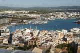 View from the Mirador Del Rei Jaume I, Ibiza Castle, Old Town Photographic Print by Emanuele Ciccomartino