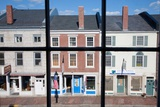 Storefronts Line Water Street in Hallowell, Maine Photographic Print by Joseph Sohm
