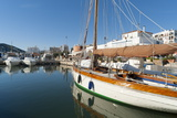 View of the Boats, Marina, Santa Eulalia Port Photographic Print by Emanuele Ciccomartino
