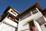 Tawang Buddhist Monastery in Early Morning Sunshine, Tawang, Arunachal Pradesh, India, Asia Photographic Print by Annie Owen