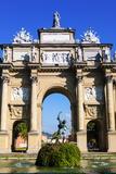 Piazza Della Libertaê, Arco Dei Lorena (Lorena's Triumphal Arch), Florence (Firenze) Photographic Print by Nico Tondini