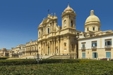 The 17th Century Cathedral, Collapsed in 1996 and Rebuilt, at Noto Photographic Print by Rob Francis