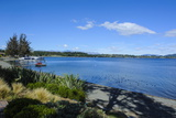 The Shores Lake of Te Anau in Te Anau, Fiordland National Park, South Island, New Zealand, Pacific Photographic Print by Michael Runkel