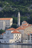 Church of Our Lady of the Rosary Lit by Early Morning Light, Perast, Bay of Kotor Photographic Print by Eleanor Scriven