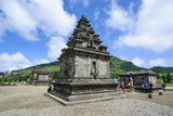 Arjuna Hindu Dieng Temple Complex, Dieng Plateau, Java, Indonesia, Southeast Asia, Asia Reprodukcja zdjęcia autor Michael Runkel