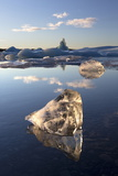 View of Icebergs on Jokulsarlon Photographic Print by Lee Frost