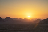 Sunset, Wadi Rum, Jordan, Middle East Photographic Print by Neil Farrin