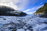 Fox Glacier, Westland Tai Poutini National Park, South Island, New Zealand, Pacific Photographic Print by Michael Runkel