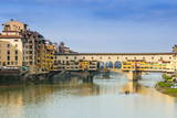Ponte Vecchio and River Arno, Florence (Firenze), Tuscany, Italy, Europe Photographic Print by Nico Tondini