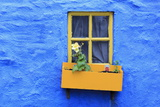 Cottage Window, Kinsale Town, County Cork, Munster, Republic of Ireland, Europe Photographic Print by Richard Cummins