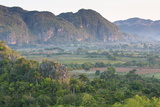 The Vinales Valley, Bathed in Early Morning Sunlight, from Hotel Los Jasmines Photographic Print by Lee Frost