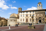 The Building of Fraternita Dei Laici and Church of Santa Maria Della Pieve Photographic Print by Nico Tondini