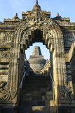 The Temple Complex of Borobodur, UNESCO World Heritage Site, Java, Indonesia, Southeast Asia, Asia Photographic Print by Michael Runkel