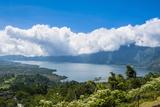 Volcano Gunung Batur Crater Lake, Bali, Indonesia, Southeast Asia, Asia Photographic Print by Michael Runkel