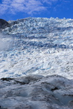 The Huge Icefield of the Fox Glacier, Westland Tai Poutini National Park, South Island Photographic Print by Michael Runkel
