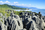 Pancake Rocks, Paparoa National Park, West Coast, South Island, New Zealand, Pacific Photographic Print by Michael Runkel