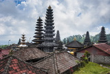 Overlook over the Pura Besakih Temple Complex, Bali, Indonesia, Southeast Asia, Asia Photographic Print by Michael Runkel