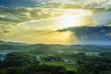Chocolate Hills, Bohol, Philippines, Southeast Asia, Asia Photographic Print by Michael Runkel