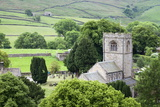 St. Wilfrids Church in the Village of Burnsall in Wharfedale, Yorkshire Dales, Yorkshire, England Photographic Print by Mark Sunderland