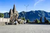 Hindu Temple Complex, Mount Bromo, Bromo Tengger Semeru National Park, Java, Indonesia Reprodukcja zdjęcia autor Michael Runkel