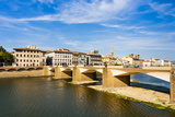 Ponte Alla Carraia over the Arno River, Florence, Tuscany, Italy, Europe Photographic Print by Nico Tondini