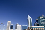 Perth Skyline from Cultural Centre, Perth, Western Australia, Australia, Pacific Photographic Print by Lynn Gail