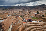 View over the Rooftops of Cuzco from San Blas Neighbourhood, Cuzco, Peru, South America Photographic Print by Yadid Levy