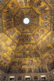 Mosaic Ceiling of Dome of the Battistero (Baptistry) Photographic Print by Nico Tondini