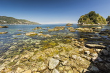 Baia Delle Sirene Bay on the North Shore of This Popular North East Tourist Town Photographic Print by Rob Francis