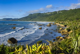 The Untouched West Coast of South Island Between Greymouth and Westport, West Coast, South Island Photographic Print by Michael Runkel