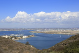 San Diego Bay Viewed from Cabrillo National Monument, Point Loma, San Diego, California, Usa Photographic Print by Richard Cummins