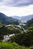 The Rice Terraces of Banaue, Northern Luzon, Philippines, Southeast Asia, Asia Fotografisk trykk av Michael Runkel