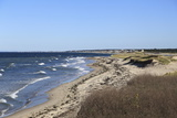 Town Neck Beach, Cape Cod Bay, Sandwich, Cape Cod, Massachusetts, New England, Usa Photographic Print by Wendy Connett