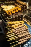 Tofu for Sale, Shilin Night Market, Taipei, Taiwan, Asia Photographic Print by Michael Runkel