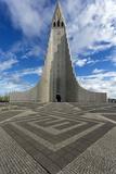 Hallgrimskirkja, Reykjavik, Iceland, Polar Regions Photographic Print by Lee Frost