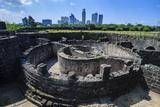 Old Watchtower Baluarte De San Diego, Intramuros, Manila, Luzon, Philippines, Southeast Asia, Asia Photographic Print by Michael Runkel