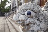 Statue at Tomb of Khai Dinh, Hue, Thua Thien-Hue, Vietnam, Indochina, Southeast Asia, Asia Photographic Print by Ian Trower