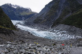 Glacial Outflow of Fox Glacier, Westland Tai Poutini National Park, South Island Photographic Print by Michael Runkel