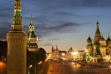 The Kremlin Fotografisk tryk af Martin Child